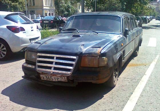 Волга-лимузин (спереди)