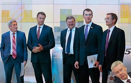 Кандидаты в мэры Москвы